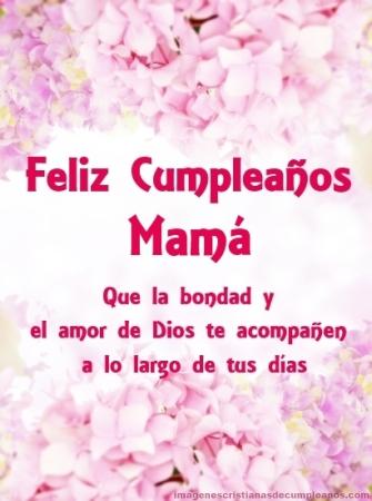 Feliz cumple mamá