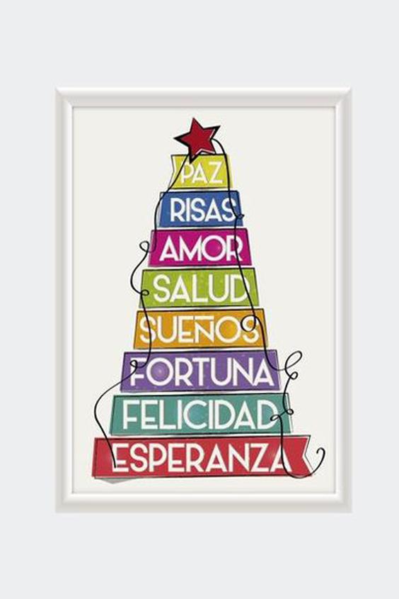 imagen cristiana de navidad con luces