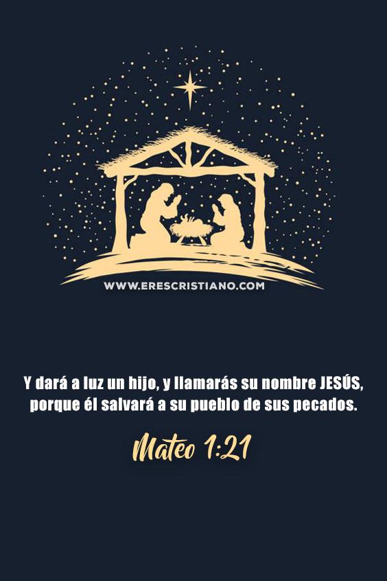 versículos de navidad