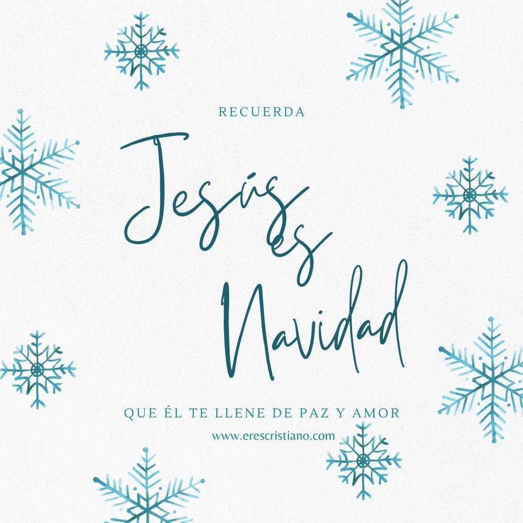 imagenes con mensajes cristianos de feliz navidad