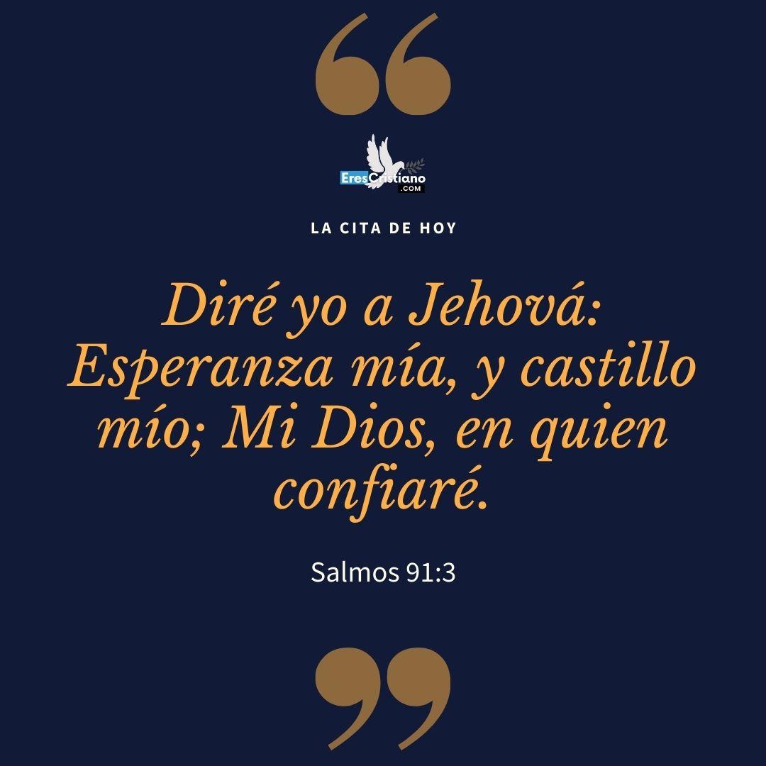 imágenes de salmo 91 con letra grande