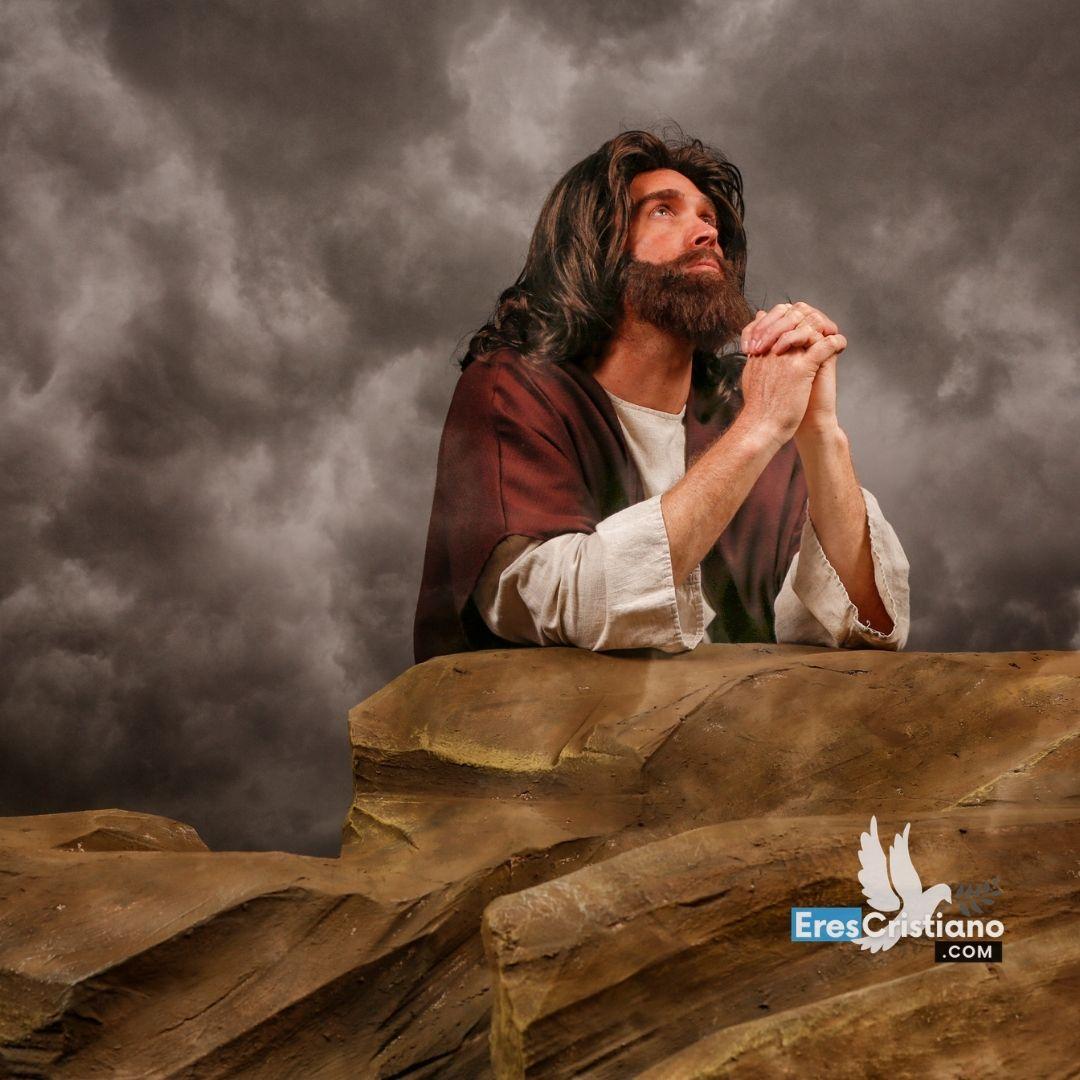 jesus orando en el getsemani