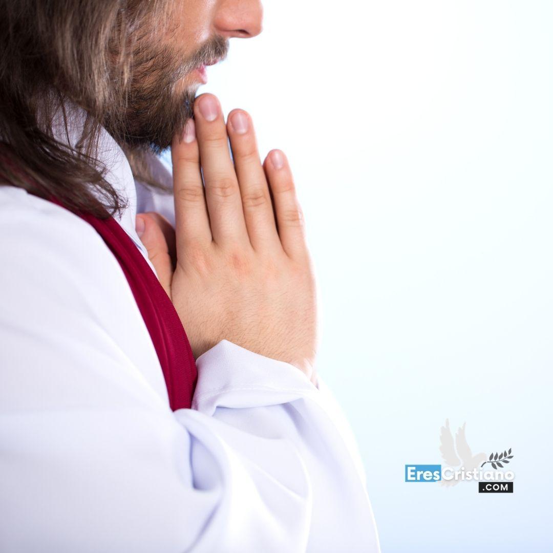jesus orando citas biblicas