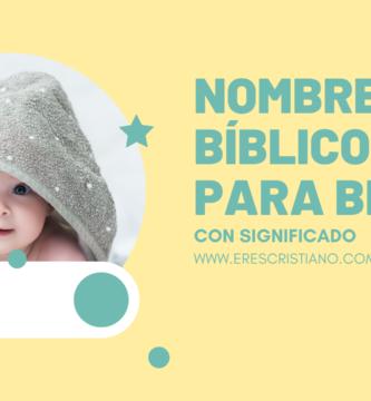 nombres de la biblia para niños