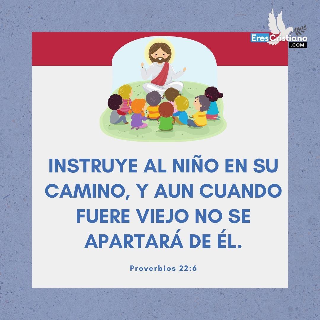 imagenes con mensajes biblicos para niños