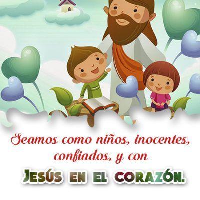 ▷ Imágenes Cristianas sobre el Día del Niño ¡Dios te bendiga!